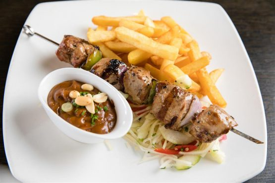 Lunch Picture - Pork Sate
